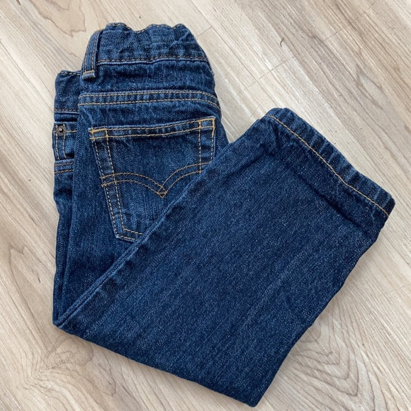 Levi's 505 Straight Toddler Jeans